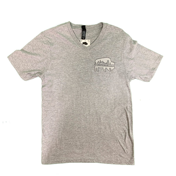 BFLO Skyline V-neck T-shirt