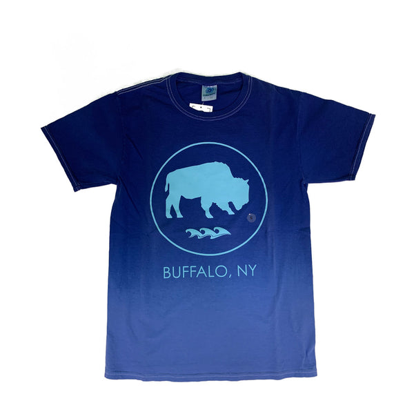 Ombre Blue Buffalo Tee