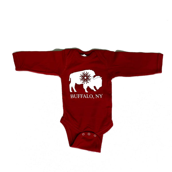 Baby Red Holiday Onesie