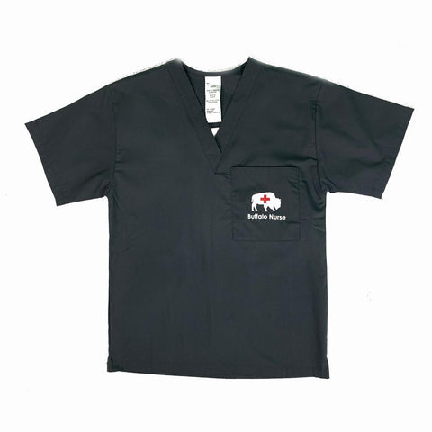 Buffalo Nurse Scrub Top
