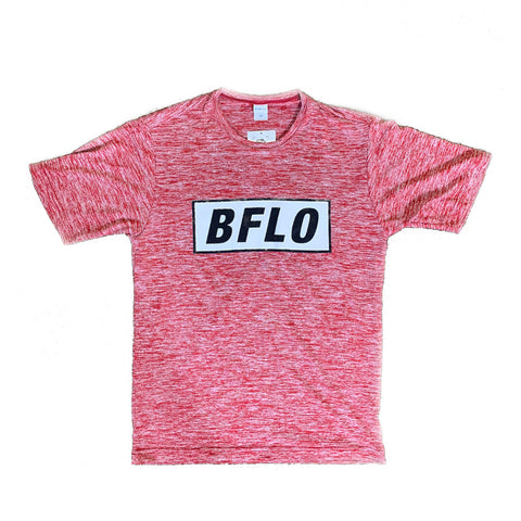 BFLO Athletic Fit Red and Black Bold SST