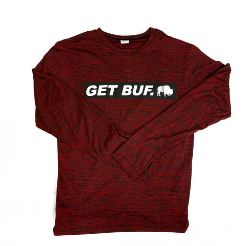 BFLO GET BUF. Deep Heather Red LST