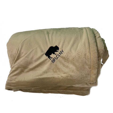 BFLO Soft Tan Luxury Blanket