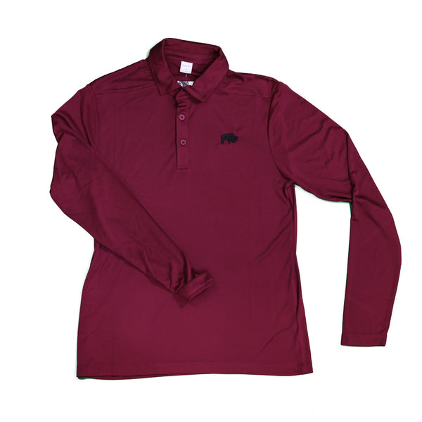 Cardinal BFLO Long Sleeve Performance Polo