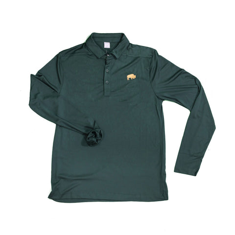 Forest Green BFLO Performance Polo
