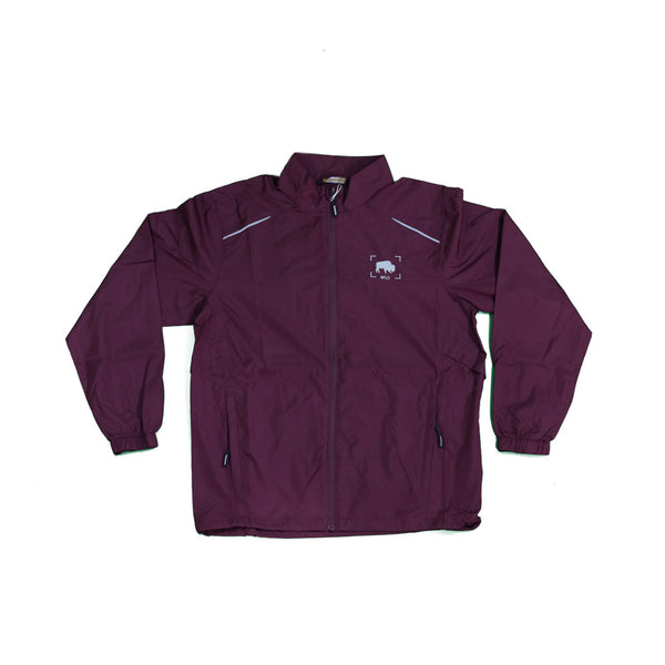 BFLO burgundy lightweight jacket