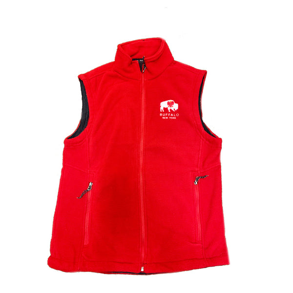 Red Polish Themed Vest
