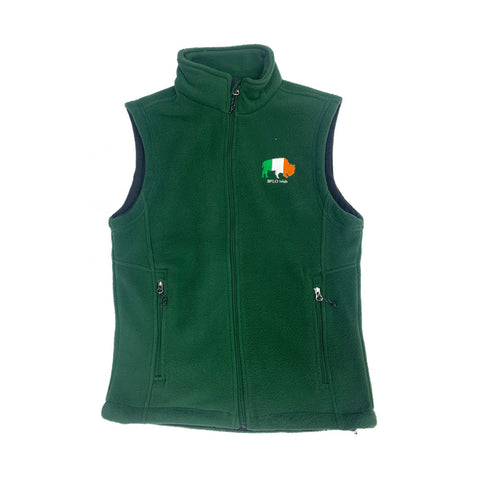 Classic Green Irish BFLO Vest