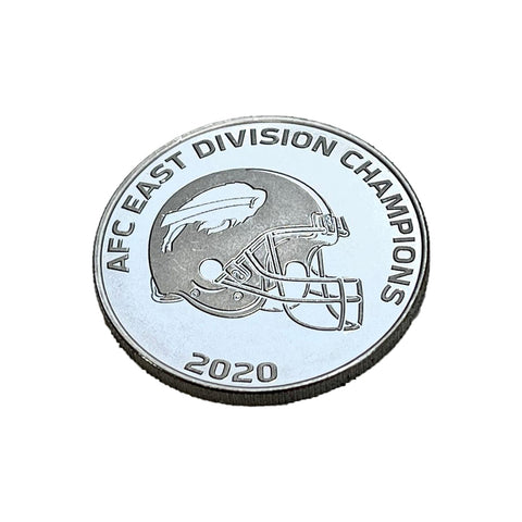 AFC East Division Champs Official Coin