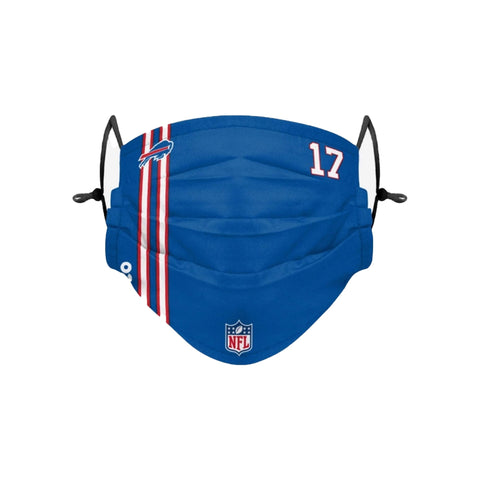 Buffalo Bills Allen On Field Pleated Face Covering