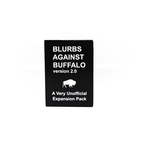 Blurbs Against Buffalo
