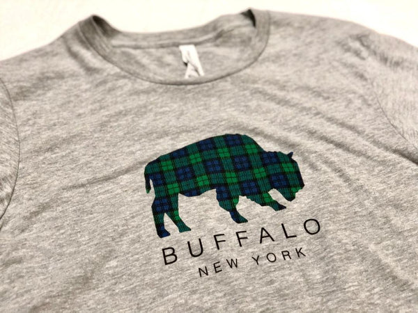 BFLO Blackwatch Plaid Long Sleeve Tee