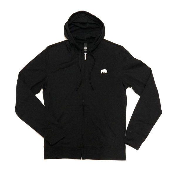 BFLO Black Zip-up Sweatshirt