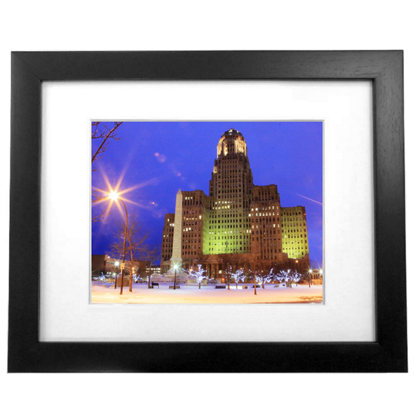 Buffalo City Hall at Twilight Photo Wall Decor