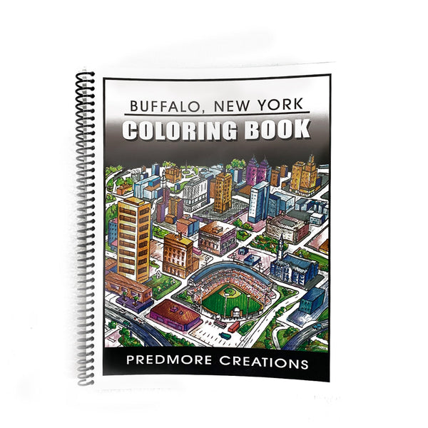 Buffalo, NY Coloring Book (Predmore Creations)