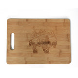 Large Skyline Cutting Board