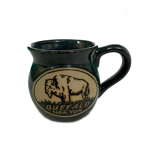 Blue Buffalo Pottery Mug