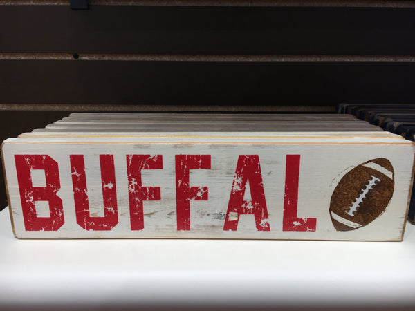 BFLO Rustic Wooden Signs