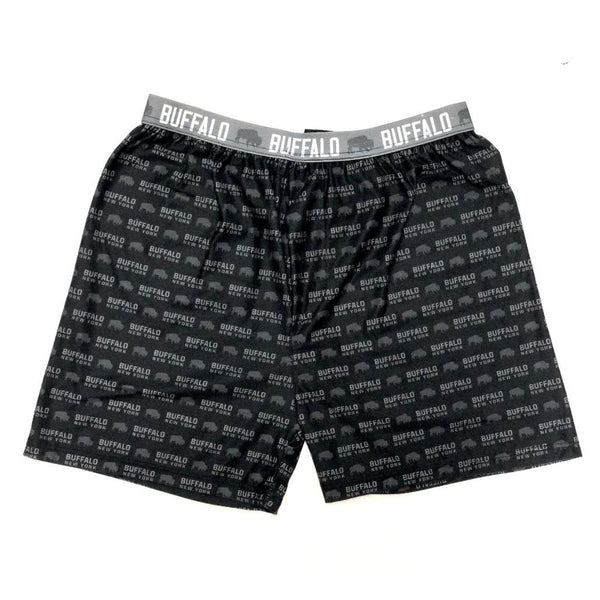 BFLO Black and Grey Boxers