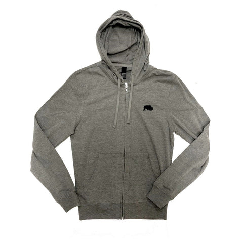 BFLO Grey Zip-up Hoodie