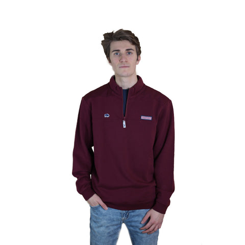 Vineyard Vines Maroon Shep Shirt
