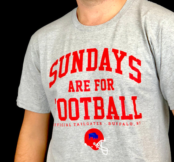 """Sundays Are For Football"" Classic Tee"