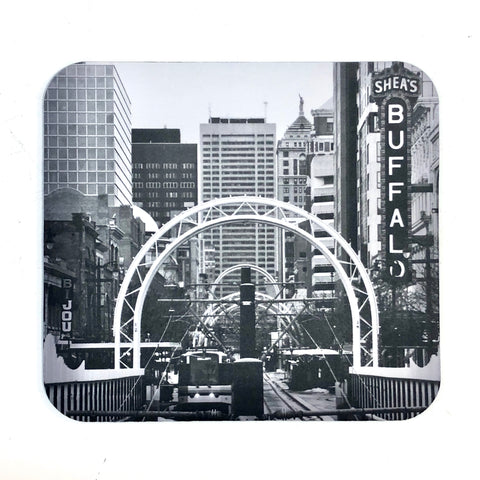 BFLO Black & White Mousepad