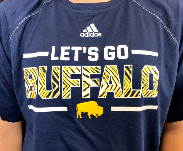 "BFLO Adidas Hockey ""Let's Go Buffalo"" Tee Shirt"