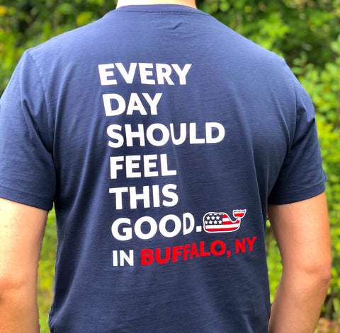 Vineyard Vines Buffalo EDSFTG Essential Tee