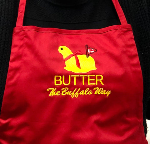 BFLO Butter Lamb Red Apron