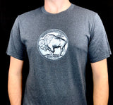 BFLO Charcoal Grey Nickel Short Sleeve Tee