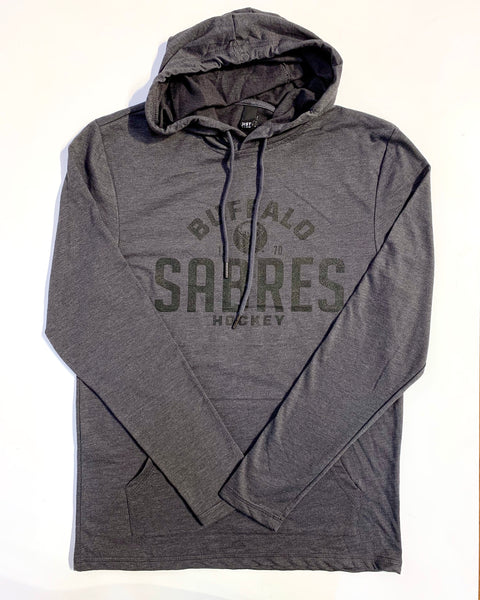 Buffalo Sabres Charcoal Lightweight Hoodie
