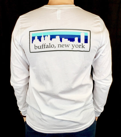 BFLO Multicolor Long Sleeve Skyline Tee