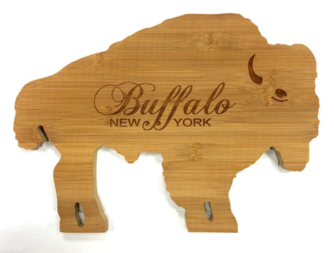 Buffalo-Shaped Bamboo Cutting Board