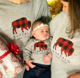 BFLO Buffalo Plaid Onesie