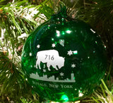 BFLO Handblown Glass Ornaments