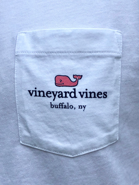 Vineyard Vines Buffalo NY Patriotic Essential Tee