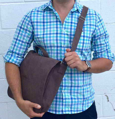 BFLO Brown Messenger Bag