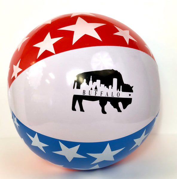 BFLO Patriotic Beach Ball