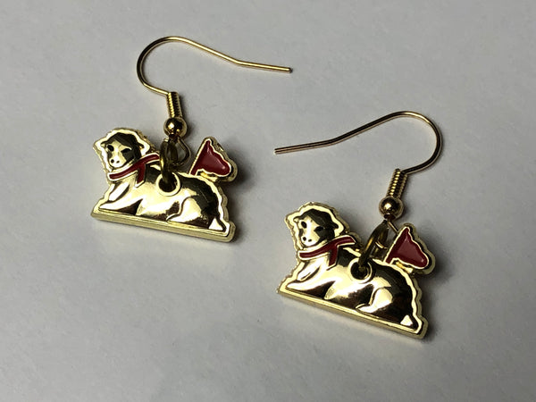 BFLO Butter Lamb Earrings