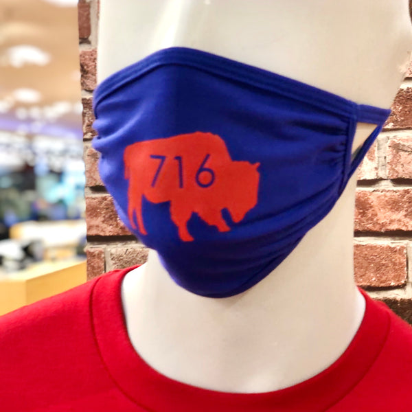 Royal Blue BFLO 716 Face Masks