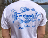 BFLO Bass Fishing Pocket-Tee