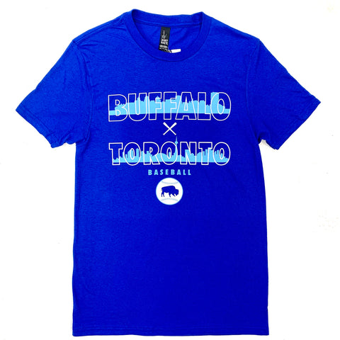 *SALE* Buffalo X Toronto Royal Baseball SST