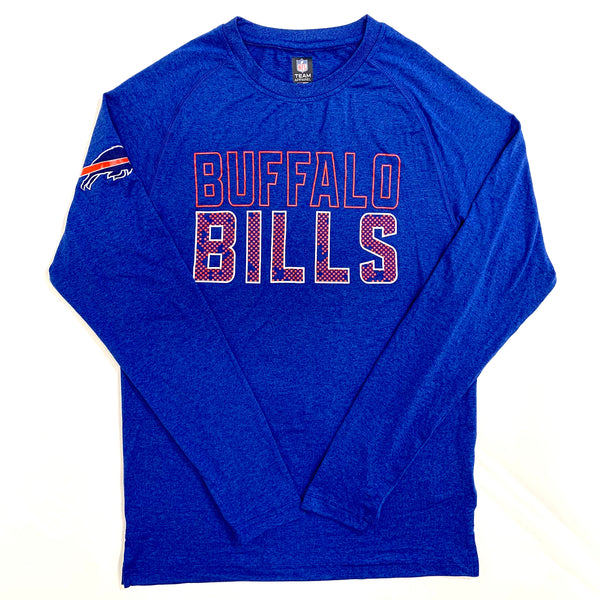 Buffalo Bills Long-Sleeve Raglan Tee