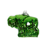 Green Buffalo Ornament