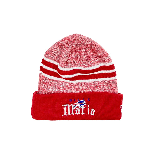 Red Marled Bills Mafia Beanie