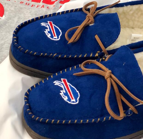 Buffalo Bills Luxury Men's Moccasins