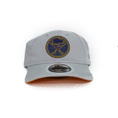 GREY BUFFALO SABRES ADJUSTABLE CAP
