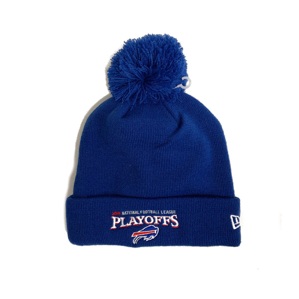 Blue Buffalo Bills Playoff Beanie