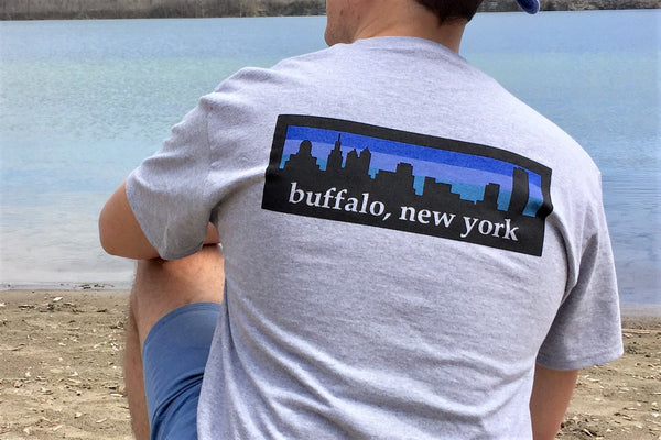 BFLO Multi-color Skyline Short Sleeve T-shirt